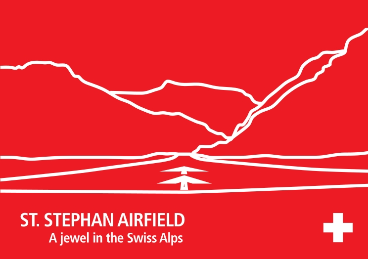 St. Stephan Airfield - A jewel in the Swiss Alps